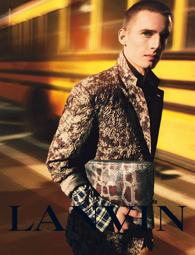 Summer 2011 Fashion Internship on Lanvin Menswear Spring Summer 2011 Campaign 0