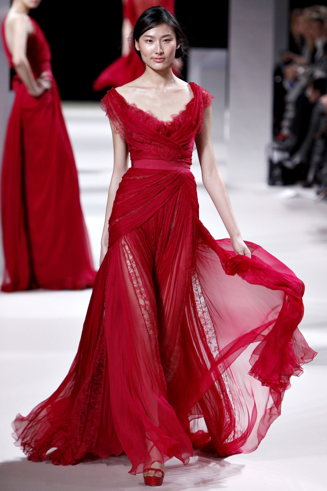 Inspired By Kelly Elie Saab 2011