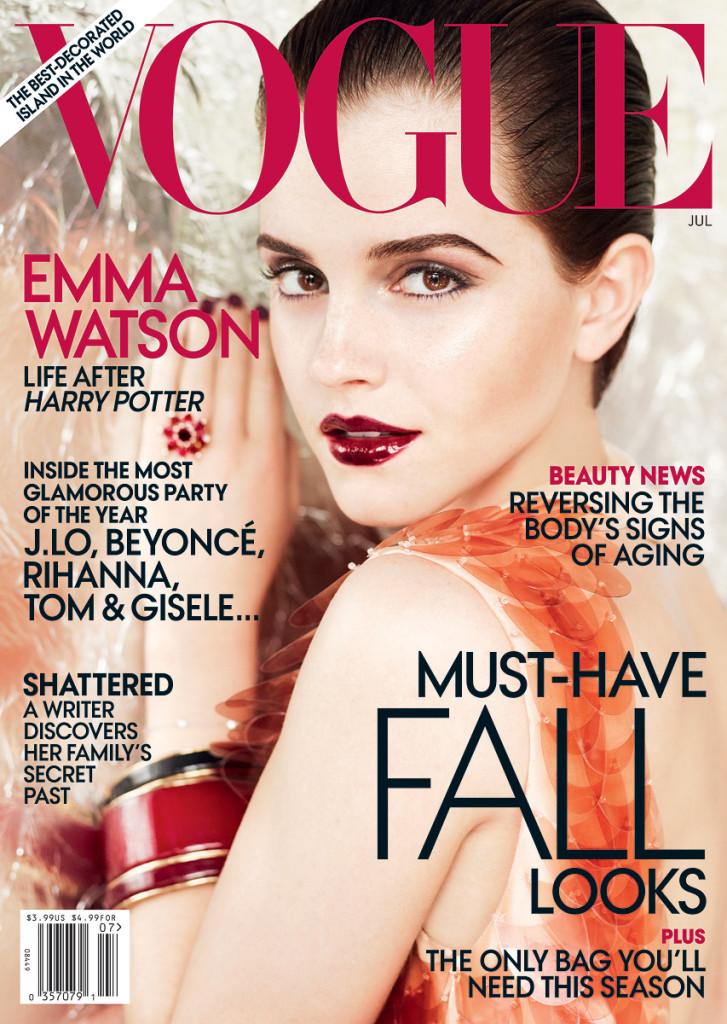 emma watson vogue 2011 us. Emma Watson by Mario Testino
