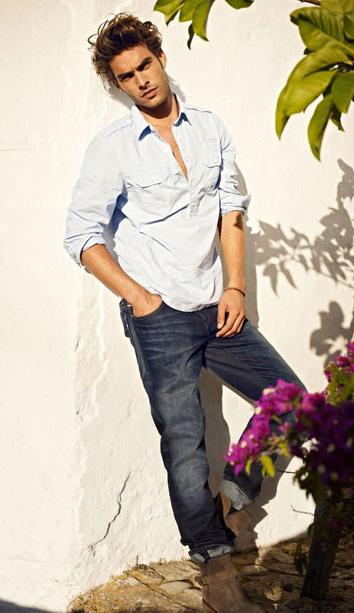 Adam Senn & Jon Kortajarena for Mavi Jeans Spring Summer ...