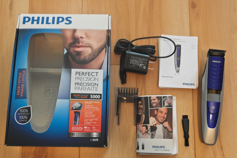 review philips norelco beard trimmer series 5000 by vincent ko details style syndicate. Black Bedroom Furniture Sets. Home Design Ideas