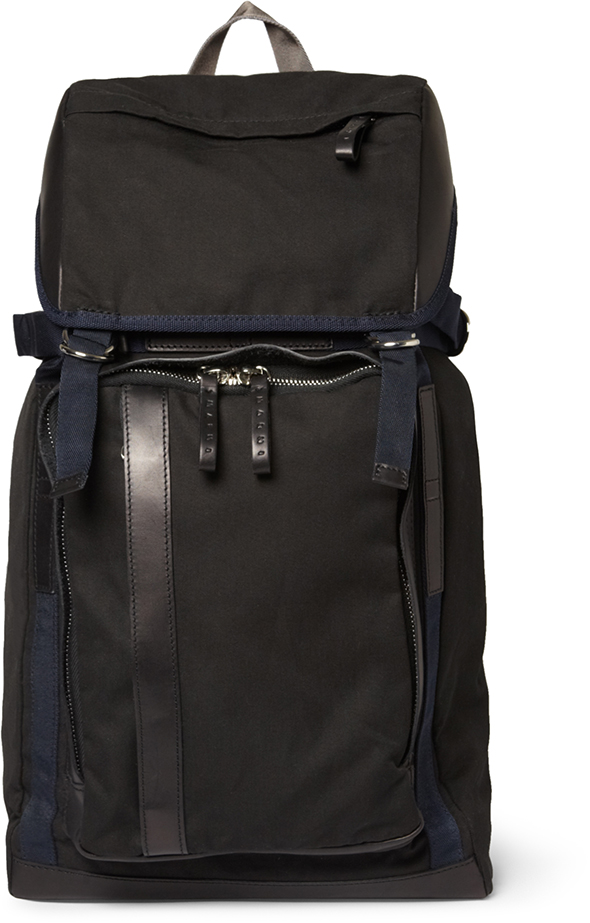 Marni MR PORTER black rucksack