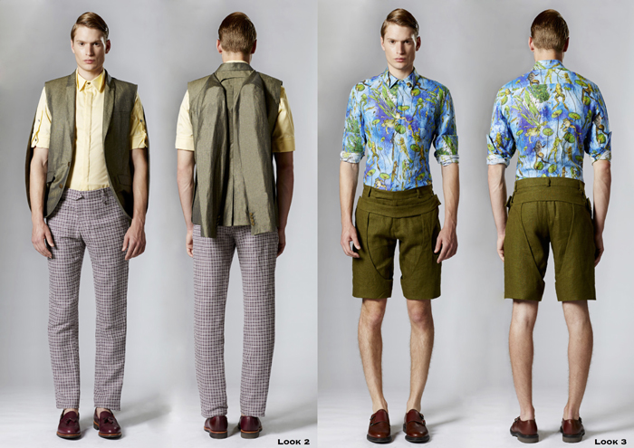 Beau Homme SS15 Look Book-2